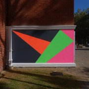 Snow, 2016, Acryl auf Wand, Perth Insitute of Contemporary Arts, WA